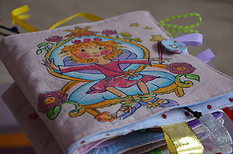 Hračky - Knižka detská, látková - 8680786_