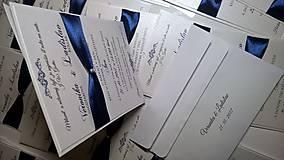 Papiernictvo - Svadobné oznámenie 3 in 1 Set pre Veroniku - 8678213_