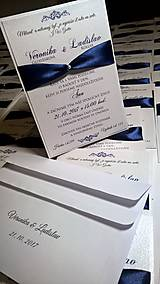 Papiernictvo - Svadobné oznámenie 3 in 1 Set pre Veroniku - 8678214_