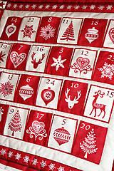 """Dekorácie - Adventný kalendár """"Scandi"""" - 8682002_"""