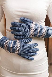 Rukavice - grigio azzurro - 8681586_