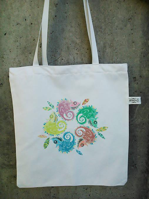69cef3a58 Plátená taška *CHAMOŠI* / trnkova_ - SAShE.sk - Handmade Nákupné tašky
