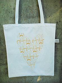 Nákupné tašky - plátená taška *ZLATKO* - 8681414_