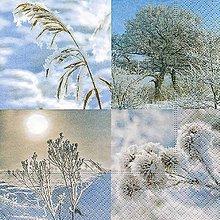 Papier - biele Vianoce - 8680838_