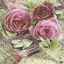 Papier - ruže - 8680876_