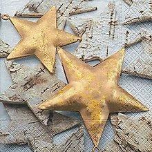 Papier - hviezdičky - 8680910_