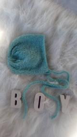 Detské čiapky - Čepček boy - 8677990_