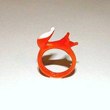 Prstene - Sklenený prsteň - 8680890_