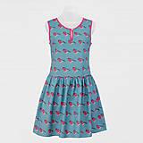 Šaty - Vtáčikové šaty - hýľ - 8680059_