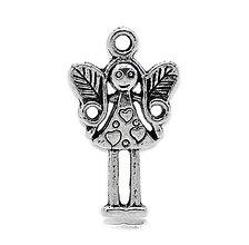 Komponenty - Prívesok anjelik - 8678049_