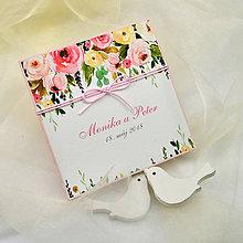 Papiernictvo - Svadobné oznámenie - 8678961_