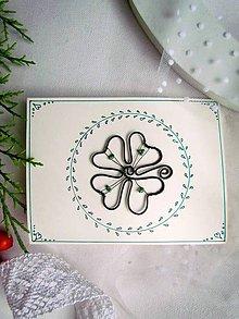 Papiernictvo - pohľadnica Šťastie - 8678418_