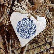 Darčeky pre svadobčanov - Srdiečka s ornamentom - 8677997_