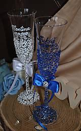Nádoby - Svadobné poháre - 8685458_