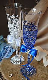 Nádoby - Svadobné poháre - 8685459_