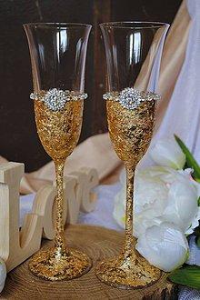 Nádoby - Svadobné poháre - 8685152_