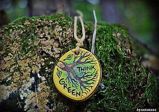 Náhrdelníky - Think Green - 8686184_