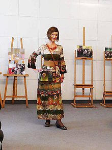 Šaty - maxi šaty smaragd romance - 8685658_