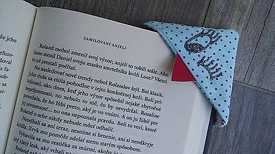 Papiernictvo - Príšerka do knižky - 8685787_