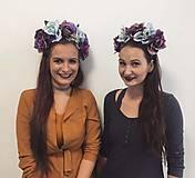 Ozdoby do vlasov - Jesenná čelenka z ruží - 8687228_