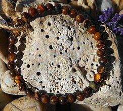 Šperky - tiger Eye for mans - 8685023_