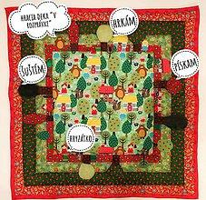 Textil - V rozprávke - hracia deka - 8685069_