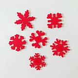 Magnetky - Snehové vločky - 8684038_