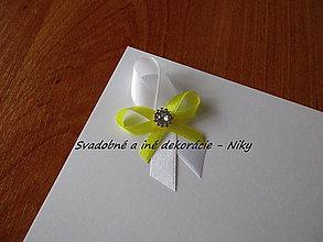 Pierka - Pierka pre hostí (Bielo žltá) - 8685249_