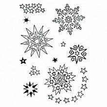Pomôcky/Nástroje - Silikónová pečiatka Snehové vločky - 8682927_