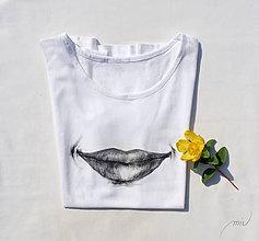 Tričká - Biele tričko \