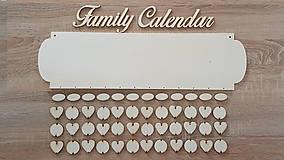 Polotovary - Rodinný kalendár A5 (najväčší výber kombinácii) - 8687193_