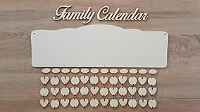Polotovary - Rodinný kalendár B5 (najväčší výber kombinácii) - 8687211_