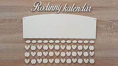 Polotovary - Rodinný kalendár C2 (najväčší výber kombinácii) - 8686981_