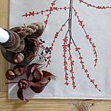 Úžitkový textil - Štóla na stôl - Ilex - 8684411_