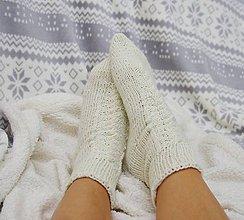 Iné doplnky - Ponožky smotanové - 8684847_