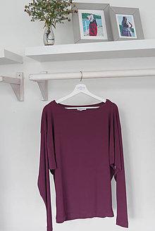 Tričká - Elegantné voľné tričko - 8683853_