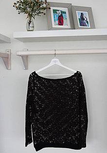 Tričká - Elegantné krajkové tričko - 8686645_