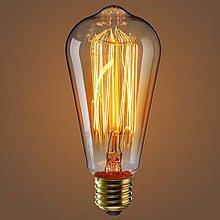 Iný materiál - EDISON žiarovka – TEARDROP – E27, 40W, 120lm - 8686438_