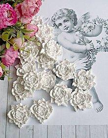 Magnetky - Ružičky ruže - 8686233_