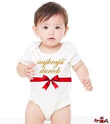 Detské oblečenie - Najkrajší darček - dievčatko - 8683245_