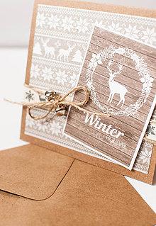 Papiernictvo - Vianočná pohľadnica \