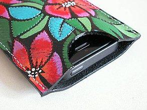 Na mobil - Vánoční hvězda - obal na mobil - 8683665_
