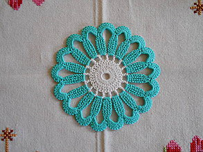 Úžitkový textil - Podložky pod poháre - 8688189_