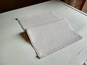 Úžitkový textil - Romantické prestieranie Ivory Love - 8691997_