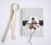 Papiernictvo - Receptár - chlieb tmavý - 8690917_
