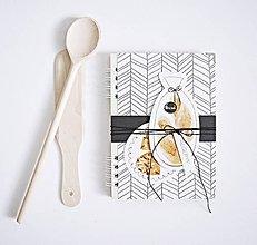 Papiernictvo - Receptár - chlieb svetlý - 8690920_