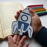 Raketa do knižky...