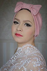 Čiapky - Staroružový turban - 8690129_