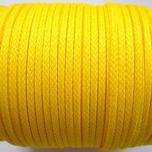 Galantéria - Šnúra PES 2mm-1m (sv.žltá) - 8692046_
