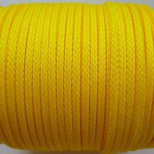 Galantéria - Šnúra PES 2mm-1m (žltá) - 8692051_